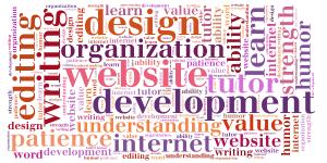 website design and development business card logo